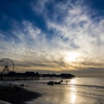 """Blackpool Sunset 3 • <a style=""""font-size:0.8em;"""" href=""""http://www.flickr.com/photos/57268629@N00/8157220440/"""" target=""""_blank"""">View on Flickr</a>"""